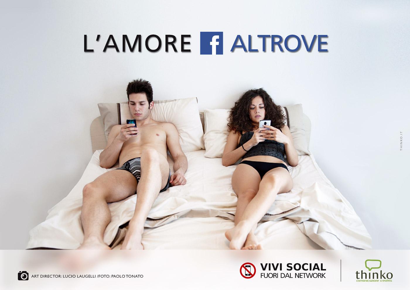 L'uso di smartphone a letto