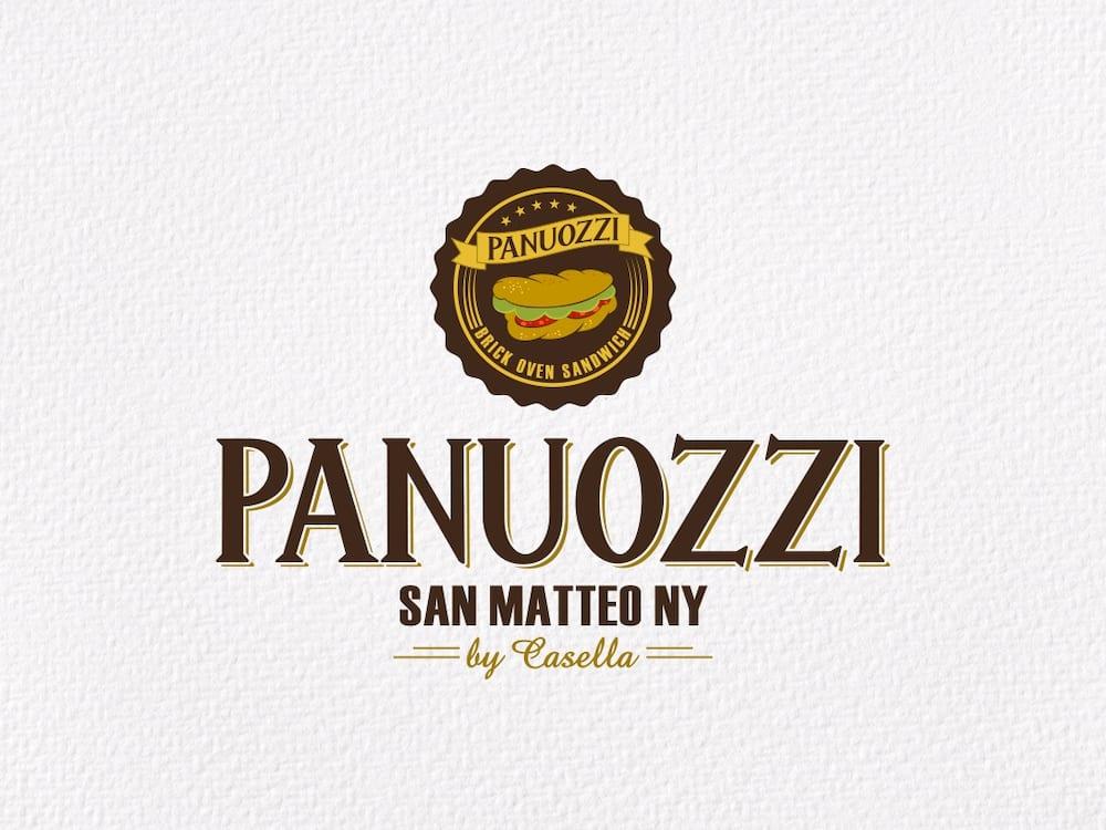 Logo Design Panuozzi New York